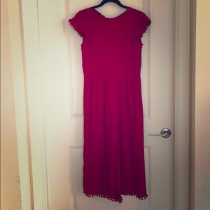 Zara Red jumpsuit size small